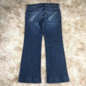 7 For All Mankind Jeans - 7 For All Mankind Dojo Wide Leg Flare Jeans sz 29